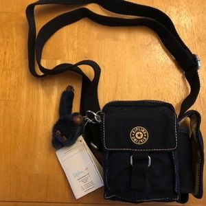 Kipling Organizer Crossbody/Credit Card holder
